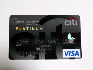 NWA CITI Pt Card